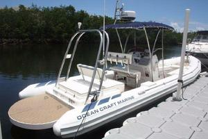 Used Ocean Craft Marine Center Console Fishing Boat For Sale