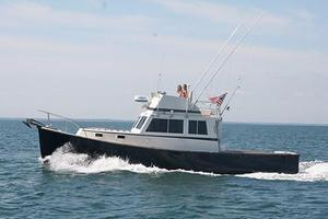 Used Duffy 35 Downeast Fishing Boat For Sale