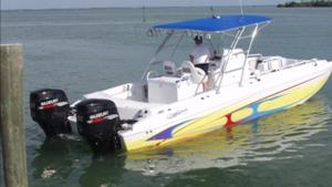 Used Ocean Express 32 Sport Fish Sports Fishing Boat For Sale