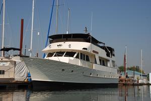 Used Halvorsen Bradford 72 Motor Yacht Cruise Ship Boat For Sale