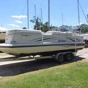 Used Godfrey Pontoon Hurricane 238 Pontoon Boat For Sale
