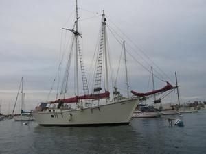 Used Custom Line Gaff Rigged Sloop Schooner Sailboat For Sale