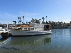 Used Rough Water Trawler Boat For Sale