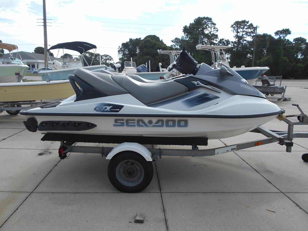 2006 Used Sea-Doo GTX 4-tec High Performance Boat For Sale