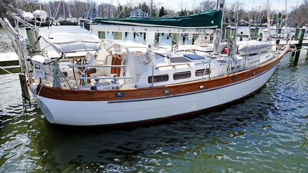 Used Hans Christian Christina Cruiser Sailboat For Sale