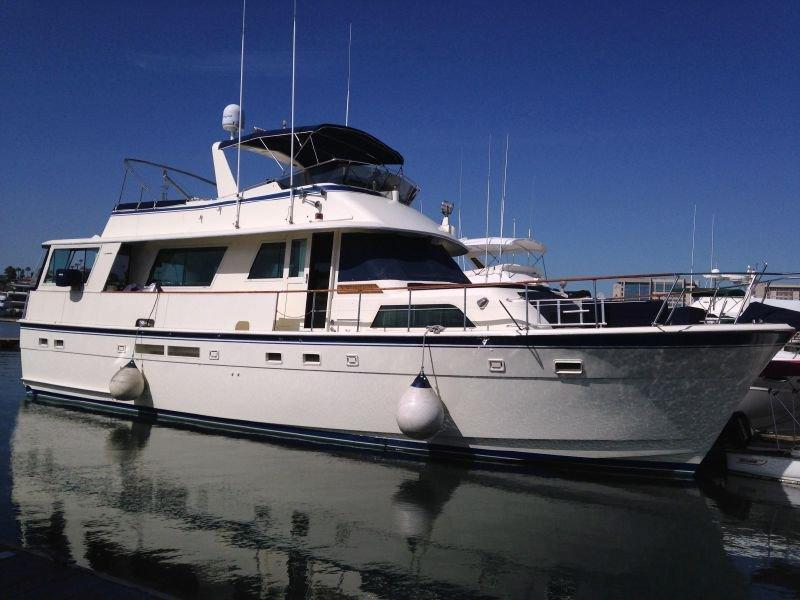 Used Hatteras 58 Widebody Motor Yacht For Sale