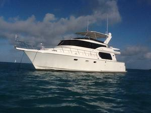 Used Symbol Motoryacht Raised Pilothouse 56' Motor Yacht For Sale