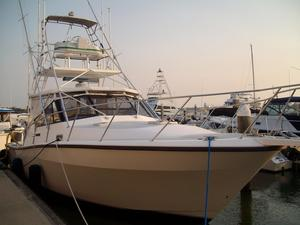 Used Rampage 36 Sportfisherman Sports Fishing Boat For Sale