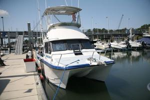 Used Kevlacat 3500 Flybridge Sports Fishing Boat For Sale