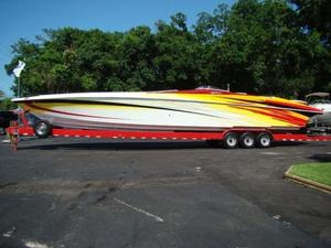 Used Hustler 50 Performance Yacht High Performance Boat For Sale