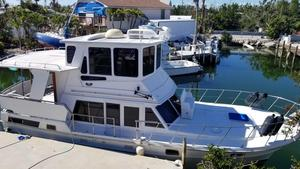 Used Heritage East 40 Sundeck Trawler Cruiser Boat For Sale