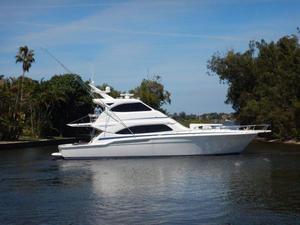 Used Bertram Enclosed Bridge Convertible Fishing Boat For Sale