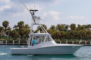 Used Legend 37 Custom Walkaround Sports Fishing Boat For Sale