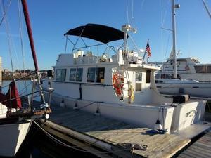 Used Duguay Carvel Novi Extended Cruiser Trawler Boat For Sale