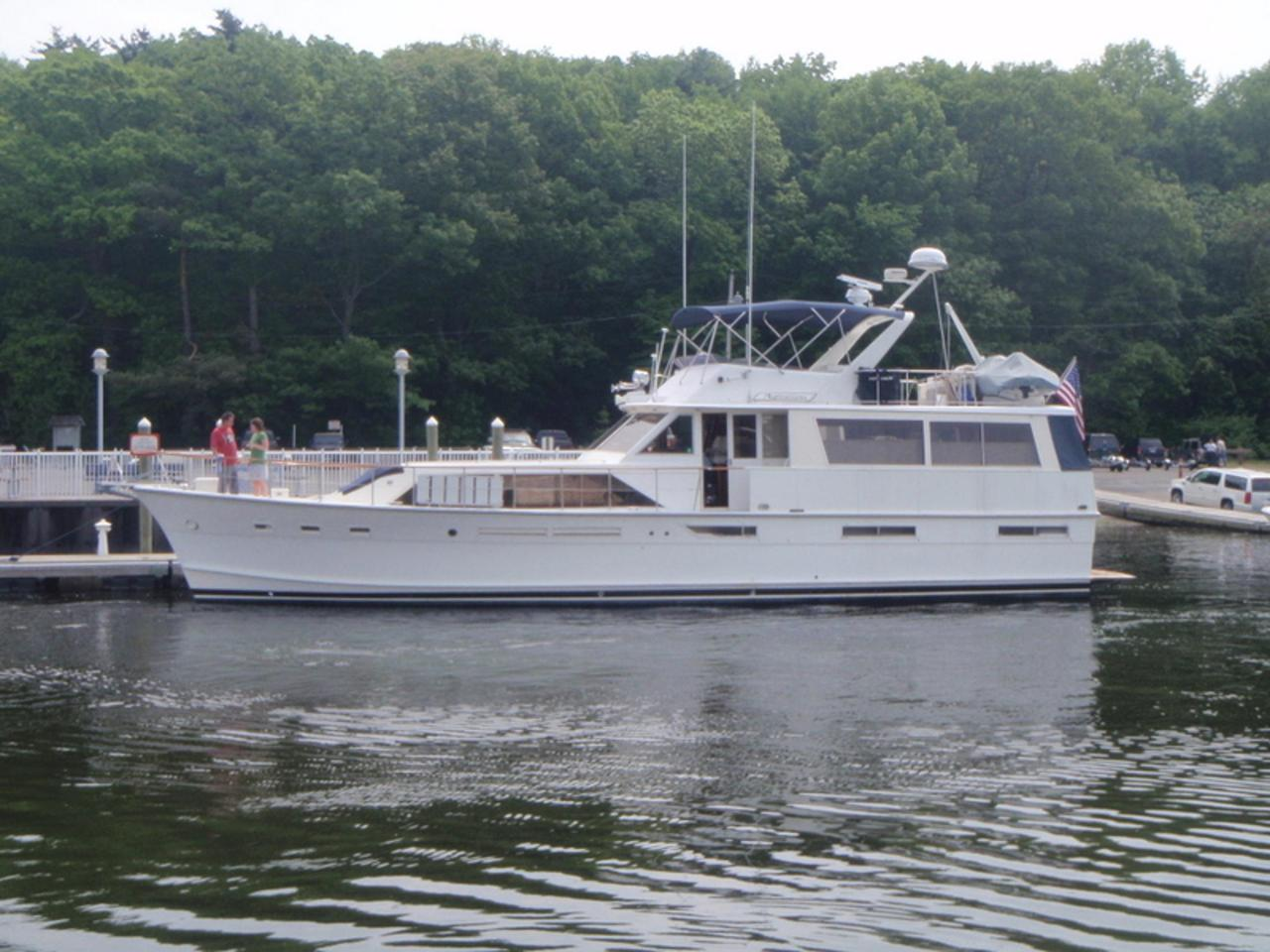 1977 used pacemaker motor yacht for sale 299 000 for Used boat motors for sale in sc