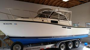 Used Rampage 280 Express Cruiser Boat For Sale