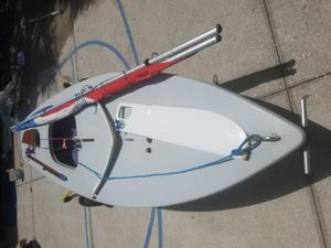 Used Laser One Design Racer and Cruiser Sailboat For Sale