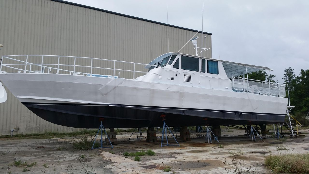 1976 Used Peterson 65 MK II Pb-dive/work Commercial Boat For