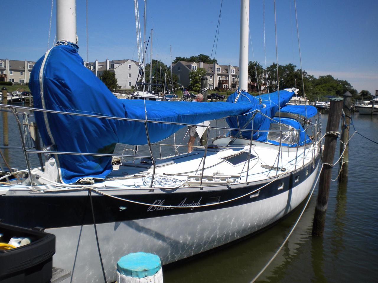 1981 Used Freedom Yachts Cat Ketch Cruiser Sailboat For Sale