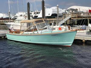 Used Dyer 29 Soft Top Downeast Fishing Boat For Sale