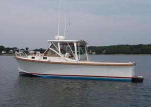 Used Fortier 26 Hardtop Downeast Fishing Boat For Sale