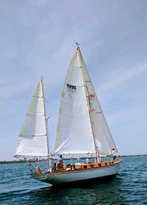 Used Sparkman & Stephens 48 Racer and Cruiser Sailboat For Sale