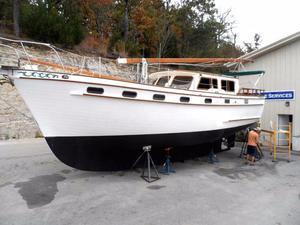 Used Island Trader 40 Motorsailer Boat For Sale