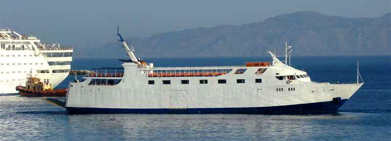 1973 Used Custom Ropax Ferry Cargo Ship Boat For Sale - $2,900,000
