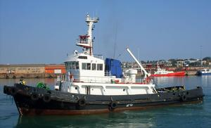 Used Niigata Bollard Pull Tug Commercial Boat For Sale