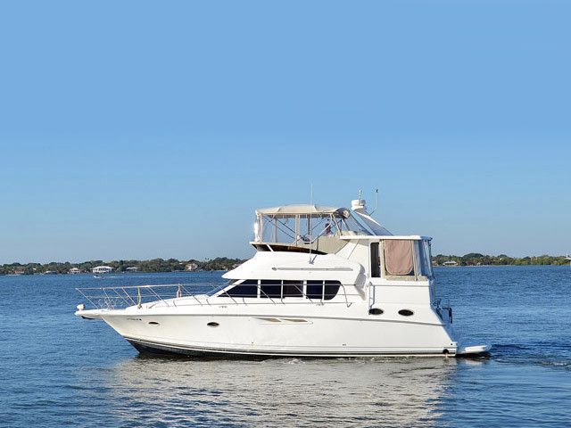 1999 used silverton 422 motor yacht motor yacht for sale for Silverton motor yachts for sale