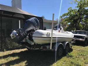 Used Apex Inflatable A-18 Tender Boat For Sale