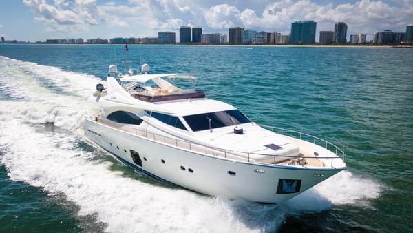 Used Ferretti Yachts 881 Motor Yacht For Sale