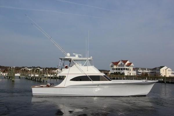 Used Dean Johnson Custom Carolina Sportfish Saltwater Fishing Boat For Sale