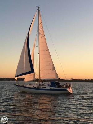 Used Hunter 37 Cutter Sailboat For Sale