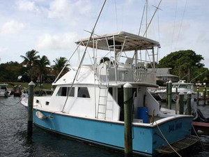 Used Caribbean 36 Convertible Sports Boat For Sale