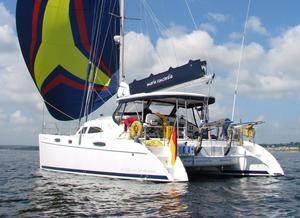 Used Broadblue 42 Catamaran Sailboat For Sale