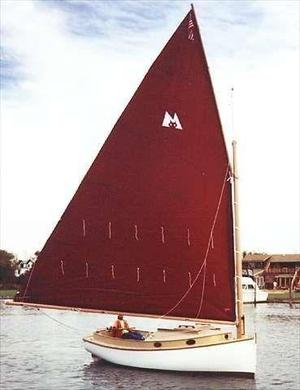 Used Menger 19 Daysailer Sailboat For Sale
