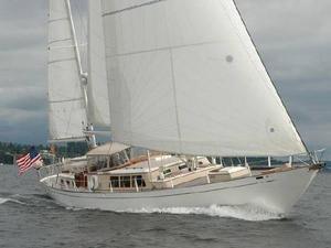 Used Sparkman & Stephens Custom S&S 65' Ketch Motorsailer Sailboat For Sale