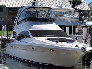 Used Sea Ray 520 Sedan Bridge Express Cruiser Boat For Sale