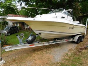 Used Cobia 230 Walkaround Cuddy Walkaround Fishing Boat For Sale