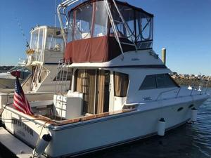 Used Trojan 10.8 Meter Sportfisher Convertible Fishing Boat For Sale