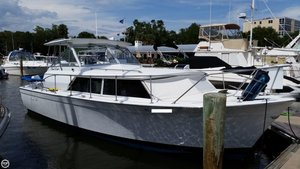 Used Chris-Craft Commander 31 Express Cruiser Boat For Sale