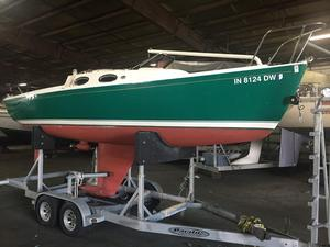 Used Schock Harbor 25 Cruiser Sailboat For Sale
