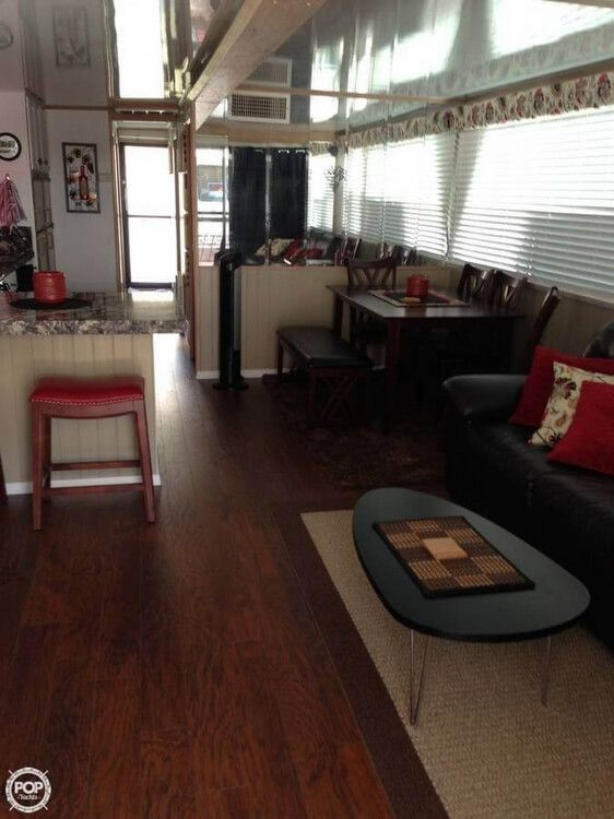 1998 Used Fun Country 56x14 House Boat For Sale - $119,995