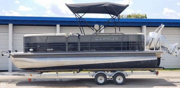 Used Coach 210RF Pontoon Boat For Sale
