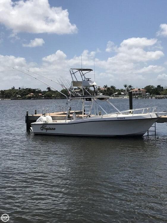 Used Mako 285 Walkaround Fishing Boat For Sale