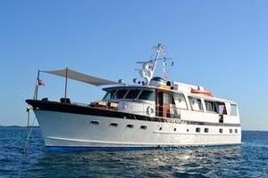 Used Burger 68 Motor Yacht Flush Deck Motor Yacht For Sale
