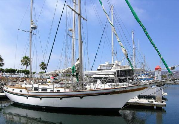 Used Bluewater Vagabond 47 Cruiser Sailboat For Sale
