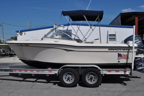 Used Grady-White Tournament 205 Saltwater Fishing Boat For Sale