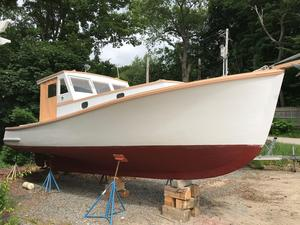 Used Stanley Boats Lobster Cruiser Downeast Fishing Boat For Sale